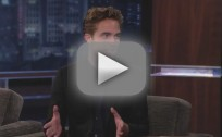 Robert Pattinson on Jimmy Kimmel Live (Part 1)