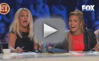 Britney Spears Stunned By Lightning on X Factor