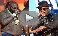 Rick Ross vs. Young Jeezy Fight: Caught on Tape!