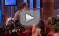 Selena Gomez: Scared on Ellen!