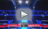 Melanie Martinez vs. Caitlin Michelle - Lights (The Voice Battle Round)