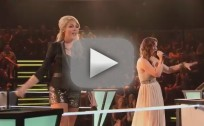 Liz Davis vs. Nicole Johnson - Baggage Claim (The Voice Battle Round)