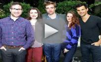 Robert Pattinson, Kristen Stewart and Taylor Lautner Interview