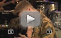 Justin Bieber Makes Out with a Mannequin