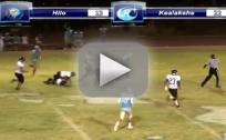 350 lb. Running Back in Action