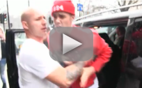 Justin Bieber Yells at Photographer