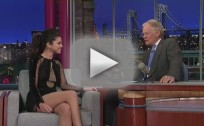 Selena Gomez Talks Justin Bieber on The Late Show