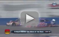 Denny Hamlin Crash