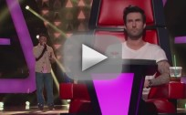 Kris Thomas - The Voice Blind Audition