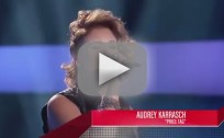 Audrey Karrasch - The Voice Blind Audition