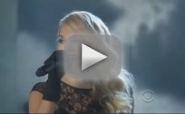 "Carrie Underwood Rides ""Two Black Cadillacs"" to Academy of Country Music Awards"