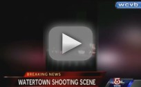 Boston Bombing Suspect Shootout