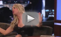 Kaley Cuoco on Jimmy Kimmel Live, Part 1