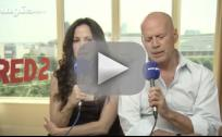 Bruce Willis Sort of Promotes Red 2