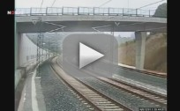 Spain Train Crash Video