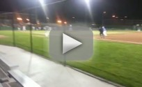 Batter Throws Bat at Pitcher