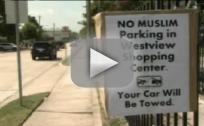 No Muslim Parking Signs