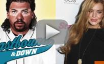 Lindsay Lohan Cast on Eastbound & Down