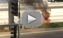 Dick Van Dyke Rescued From Flaming Car