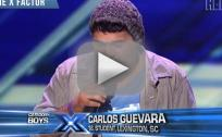 Carlos Guevara on The X Factor