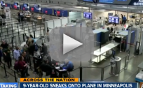 9-Year-Old Sneaks on Plane Without Ticket
