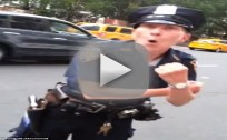 NYPD Officer Tells Off Street Vendor