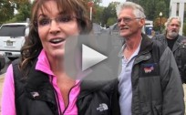 "Sarah Palin Slams Congress For Using Veterans as ""Pawns,"" Poses With Veterans"