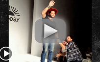 Scott Disick Yanks at Runway Designer