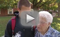 82-Year-Old Wins Homecoming Queen