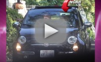 Noah Cyrus, 13, Goes Driving Around L.A.