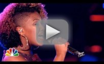 "Amber Nicole: ""Wasting All These Tears"" - The Voice"