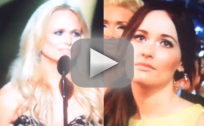 Miranda Lambert Wins CMA Award, Kacey Musgraves is Not Impressed
