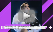 U.S. Censors Miley Cyrus Pot Smoking