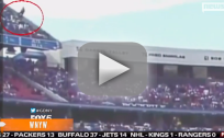 Buffalo Bills Fan Falls From Upper Deck Into Crowd Below