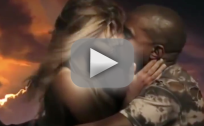 "Kanye West ""Bound 2"" Video: Kim Kardashian Topless!"