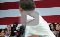 Obama Heckled by Deportation Protester