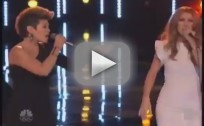 Celine Dion and Tessanne Chin - The Voice Performance