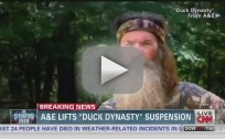 Phil Robertson Suspension Lifted