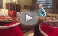 Tori Spelling Christmas Video