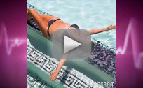 Kris Jenner Bikini Photo: In a Pool!