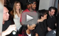 Khloe Kardashian Smoking in a Club?