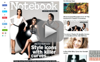 Kardashians Cover Notebook: Where Are the Curves?