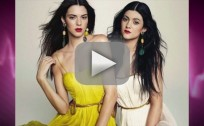 Kendall and Kylie in Marie Claire Magazine
