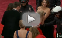 Jennifer Lawrence Falls at Oscars (Again)