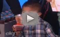 3-Year Appears on Ellen, Gets His Cupcakes