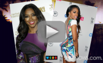 Kenya Moore and Porsha Williams Fight at RHOA Reunion