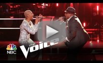 Biff Gore vs. Sisaundra Lewis: 'It's a Man's Man's Man's World' (The Voice)