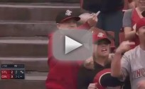 Matt Adams Shoves Fan, Gets Flipped Off
