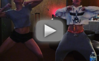 Miley and Noah Cyrus Dance