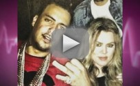 Khloe Kardashian and French Montana at a Club